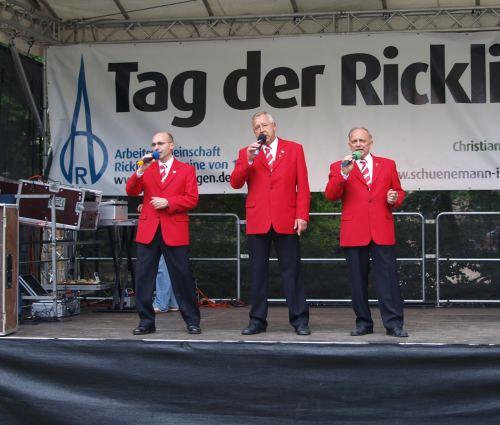 Die Beeke-S�nger: Rafael K�hn, J�rgen Scheele und Heinz N�thel (v.l. - Foto: Fidele D�rp)