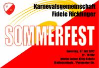 Fidele Ricklinger: Sommerfest 2012