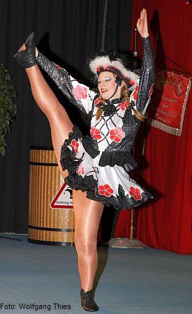 Gewinnerin des Zuschauerpokals, Tanzmariechen Nicole Schuhmacher