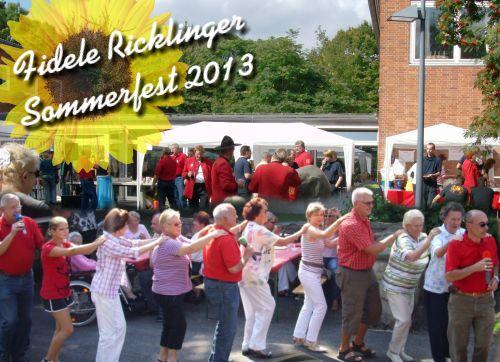 Fidele Ricklinger Sommerfest 2013