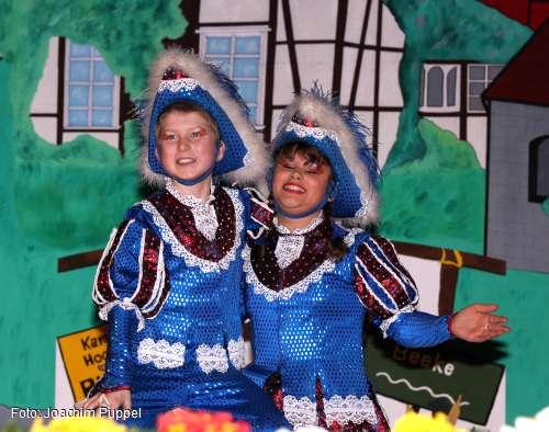 Kinder-Tanzpaar, Sanja Leifheit und Nico Quentin