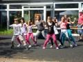 Unsere Junioren mit Katja in Action