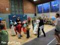 Raphael in Aktion mit den Kids