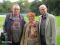 Besuch aus dem Stadtbezirksrat: Albert Koch (parteilos), Sophie Bergmann (SPD) und Dr. Jens Menge (SPD / v.l.)