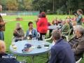 Besucher auf dem Saxonia-Grün