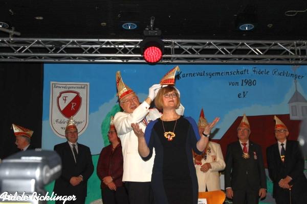 Frau Antje Niewisch-Lennartz wird zur 37. Ehrensenatorin ernannt