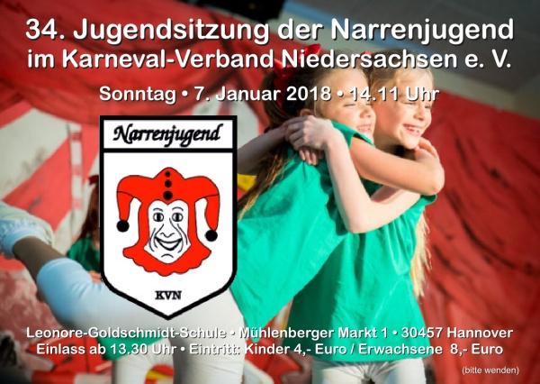 Niedersachsens Narrenjugend feiert in Hannover